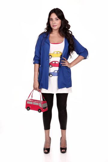 mlLY. קו אופנה לצעירות במידות גדולות (צילום: אורית פניני)