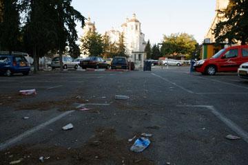 מגרש הרוסים. הסטודנטים יחזרו להחיות את מרכז העיר (צילום: ענר גרין)
