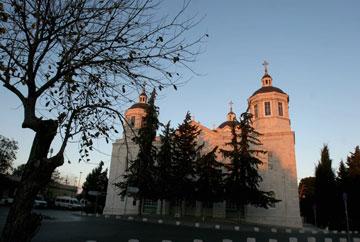 כנסיית השילוש הקדוש, מגרש הרוסים (צילום: אלכס קולומויסקי)