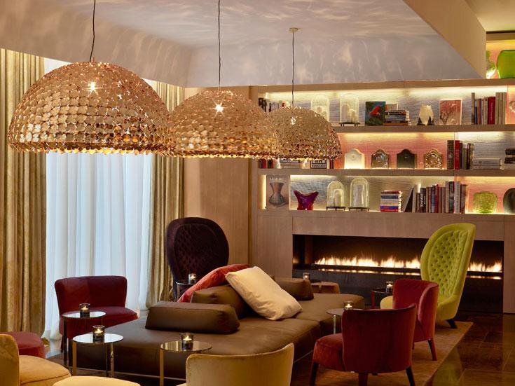 חלל נוסף בבית המלון החדש, בעיצובם של צ'יטריו ופטריסיה ויאל