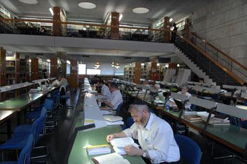 הספרייה הלאומית הקיימת (צילום: מאיר אזולאי )
