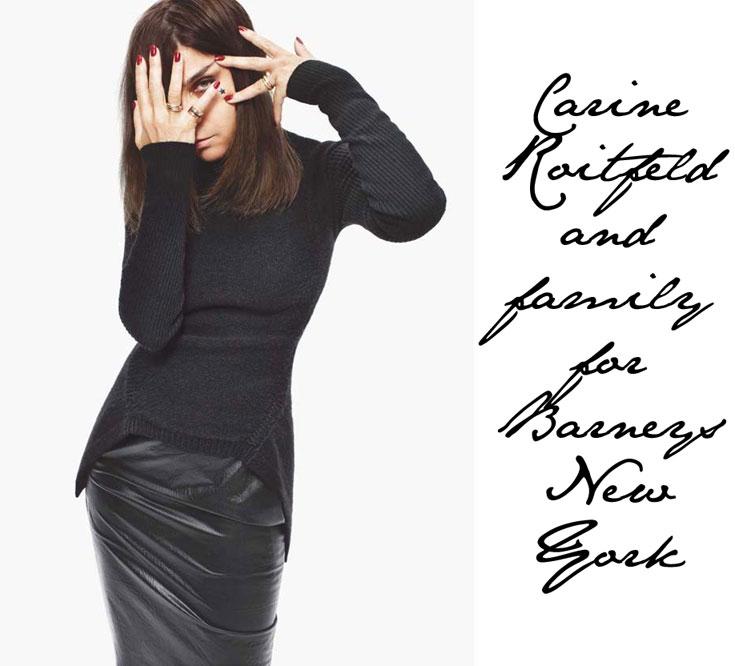 קארין רויטפלד לבארני'ס. ''פעם עולם האופנה היה הרבה יותר משעשע, אבל היום הכול זה כסף, רווחים ועסקים גדולים''