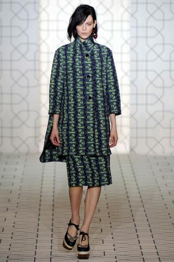 תצוגת האופנה של מארני לסתיו-חורף 2011-12. הקולקציה ל-H&M תשמור על סגנונו המוכר של המותג (צילום: gettyimages)