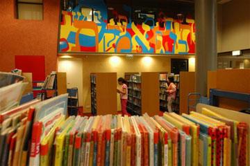 ספריית המדיטק בחולון. הדור החדש של הספריות (צילום: יוסי צבקר)