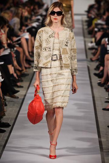 תצוגת אופנה של אוסקר דה לה רנטה. גם עיצוב הסוויטות מתוחכם ונמנע מקישוטים טרופיים (צילום: gettyimages)