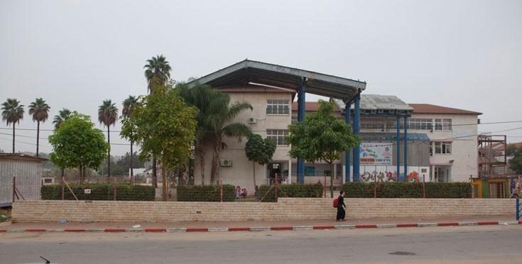 ההמצאה ככורח המציאות: בית ספר ממוגן בשדרות (צילום: רועי בושי)