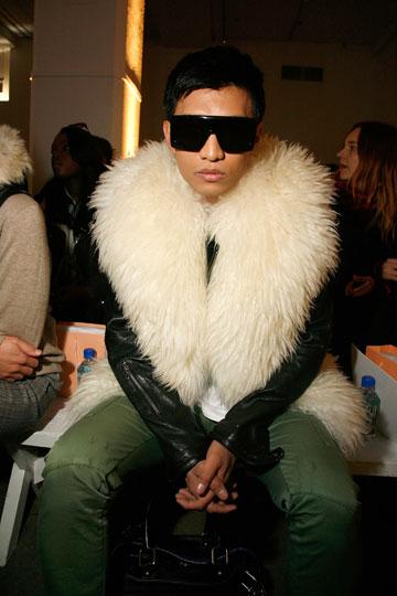 בריאן בוי. מהבלוגרים שכבר מצאו את דרכם לשורה הראשונה בתצוגות האופנה (צילום: gettyimages)
