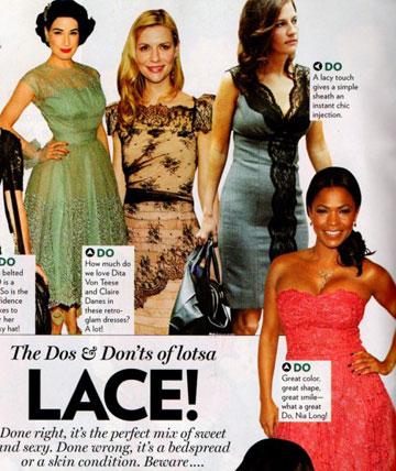 יולי זיו מופיעה במגזין גלאמור. דוגמה למתלבשת בסטייל