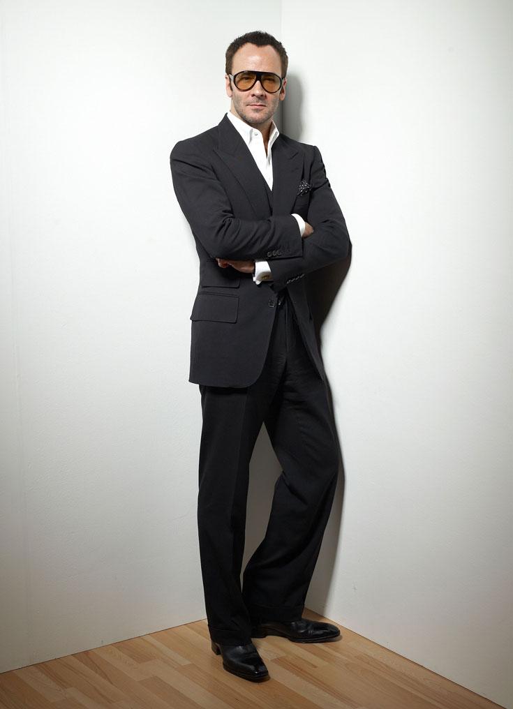 טום פורד. מעצב אופנה יצירתי, איש עסקים ממולח וחתיך הורס גם בגיל 50 (צילום: gettyimages)