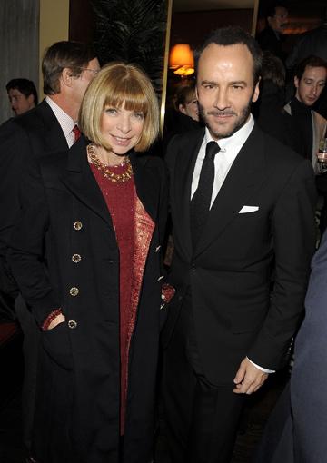 פורד ואנה ווינטור. שומר על מעמדו כאחד ממעצבי האופנה הטובים בעולם (צילום: GettyImages)