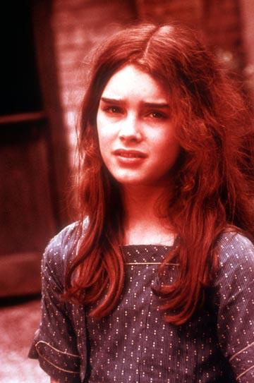ברוק שילדס ב''ילדה יפה''. פדופילים אמיתיים לא מתעניינים בלוליטות הפאשניזם (צילום: alamy_asap)