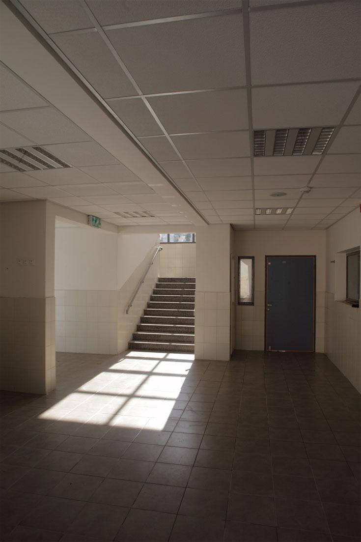 כיווני האור והאוורור שואפים לצמצם את הצורך במיזוג ובחימום. כיתות הפונות דרומה מצוידות בחלונות מוצללים (צילום: אמית הרמן)