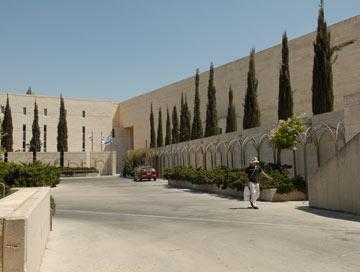 בית המשפט העליון בירושלים, שתיכנן עם אחותו (צילום: מאיר אזולאי)