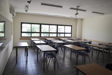 כיתה בבית הספר (צילום: אמית הרמן)