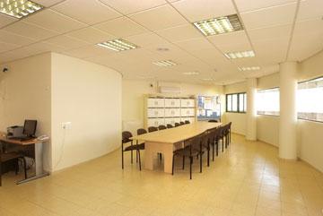 חדר המורים בביה''ס שמיר (צילום: משה כהן )