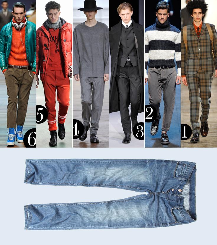 שש השראות מהמסלול, ג'ינס אחד של לי קופר, 350 שקל