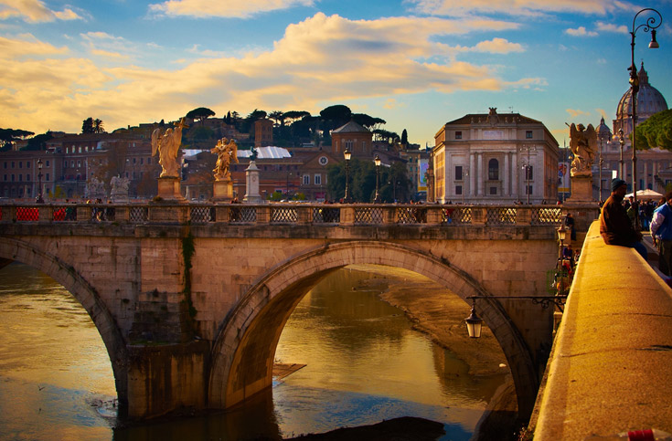 רומא בין הערביים (צילום:  Μøyαл Bгεлл, cc)