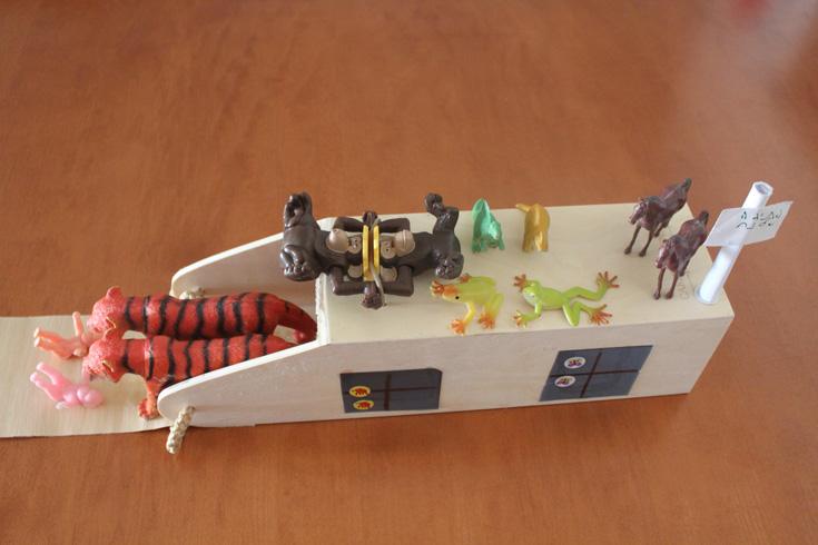 נכנסים מהצד: קופסת עץ ליין, שהוסבה לתיבה (באדיבות אתר ''את זה'')
