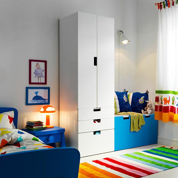 חדר ילדים של איקאה (צילום: יוהאן פרדיק)
