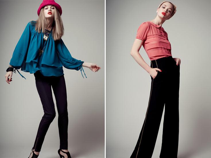 קולקציית החורף של Made by Lilamist. קו הפונה לצעירות המחפשות אופנה טרנדית במחירים של עד 500 שקל לשמלה (צילום: אסף עיני)