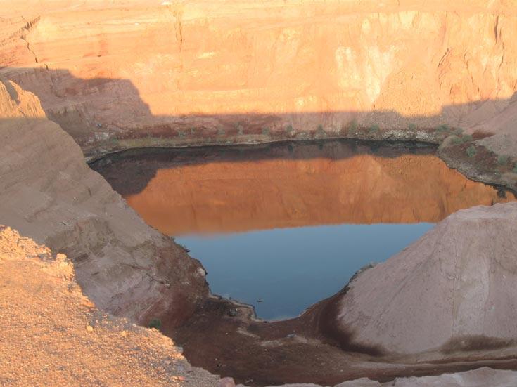 האגם הנעלם. פארק תמנע (צילום: אריאלה אפללו)
