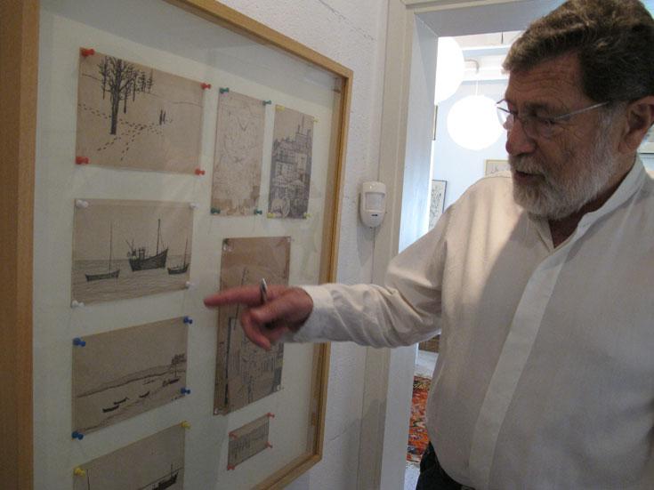 מנדל בביתו בהרצליה פיתוח, השבוע. ''חשבתי שלשקם את הרובע היהודי בחברון זה נכון, כי זה היה הרובע היהודי'' (צילום: מיכאל יעקובסון)