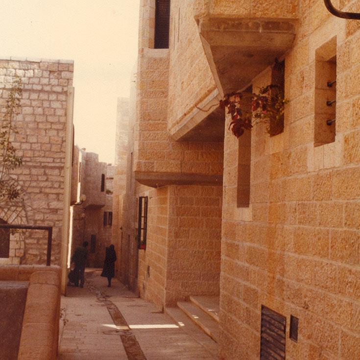 הרובע היהודי בירושלים. מהפרויקטים המשמעותיים בתחום החידוש והשימור שבהם השתתף סעדיה מנדל (באדיבות משרד מנדל מנדל אדריכלים)