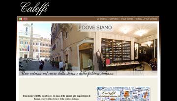 האתר של Caleffi  (צילום מתוך אתר www.caleffi.net)