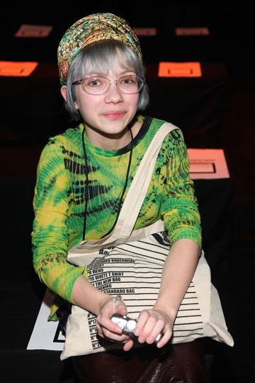 בתצוגת האופנה של אלכסנדר וואנג, 2010 (צילום: gettyimages)