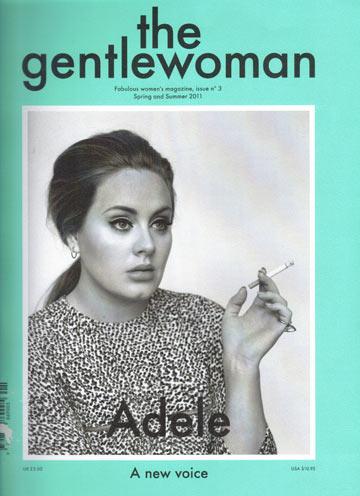 על שער גיליון אפריל של מגזין הנשים הנחשב The Gentelwoman