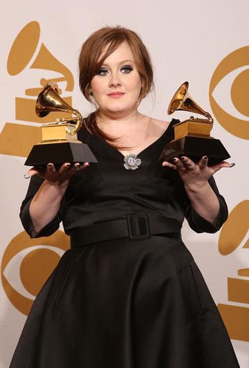 זוכה בשני פרסי גראמי ב-2009. אנה ווינטור שידכה בין הזמרת למעצבת ברברה טיפאנק (צילום: gettyimages)
