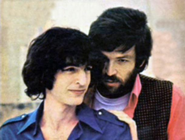 """עם שלום חנוך, עטיפת """"שבלול"""", 1970 (באדיבות להיטון)"""