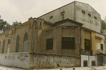 הנשיא ויצמן היה אורח קבע בבית העם (באדיבות הארכיון לתולדות רחובות)