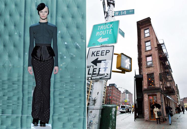 אזור המיט פאקינג בניו יורק ותצוגת החורף של מארק ג'ייקובס. העיר שנושמת אופנה (צילום: gettyimages)
