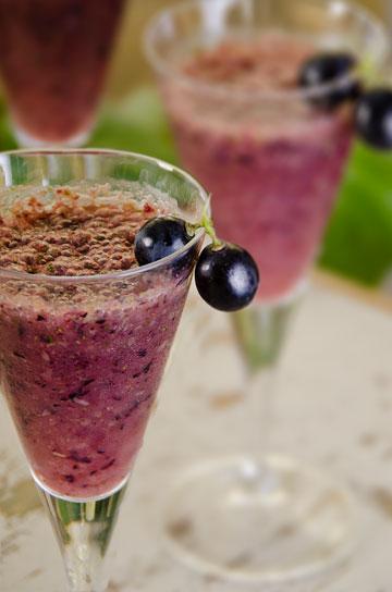 גספצ'ו ענבים עם כוסברה וצ'ילי  (ניצן אשוח-שאול)