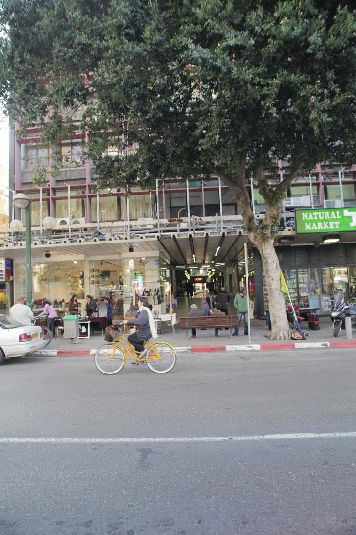 החזית לרחוב דיזנגוף. ייתכן שהשיפוץ יכלול גם את אולמות הקולנוע הסגורים והפסאז', אך הנושא עדיין בבדיקה (צילום: אמית הרמן)