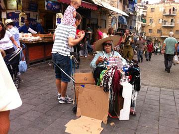 חזר למקומו המכובד במרכז העיר. מחנה יהודה (צילום: Julien Menichini ,cc)
