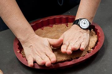 בצק פריך מ-100% קמח מלא (צילום: דודו אזולאי)