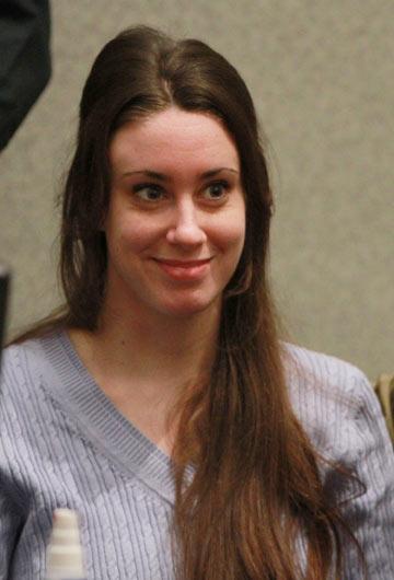 קרקס תקשורתי. קייסי אנטוני בבית המשפט (צילום: gettyimages)