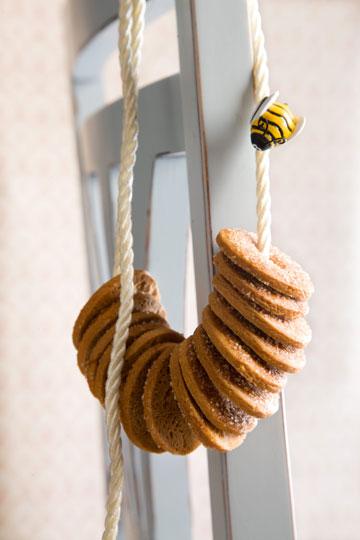 עוגיות דבש וקינמון (צילום: דני לרנר, סגנון: חמוטל יעקובוביץ')