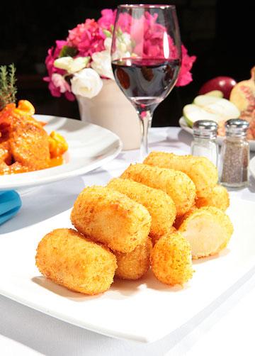 קרוקטים של תפוחי אדמה (צילום: עמי סיאנו, סגנון: שניר שרוני)