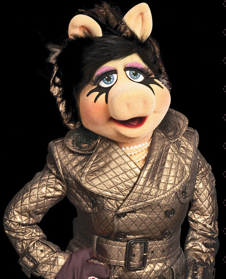 מיס פיגי כדוגמנית הבית של M.A.C בקולקציית קפסולה שתימכר אונליין בלבד