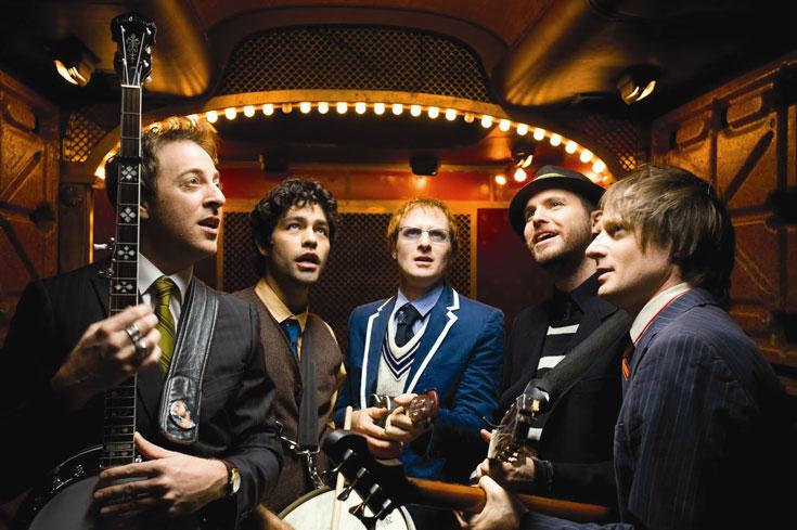 """מוזיקה מתוקה. אדריאן גרנייה והלהקה שלו """"The Honey Brothers"""""""