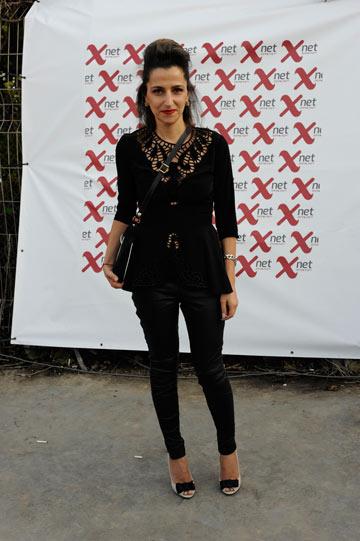 דורין אטיאס בשבוע האופנה TLV (צילום: דודו אזולאי)