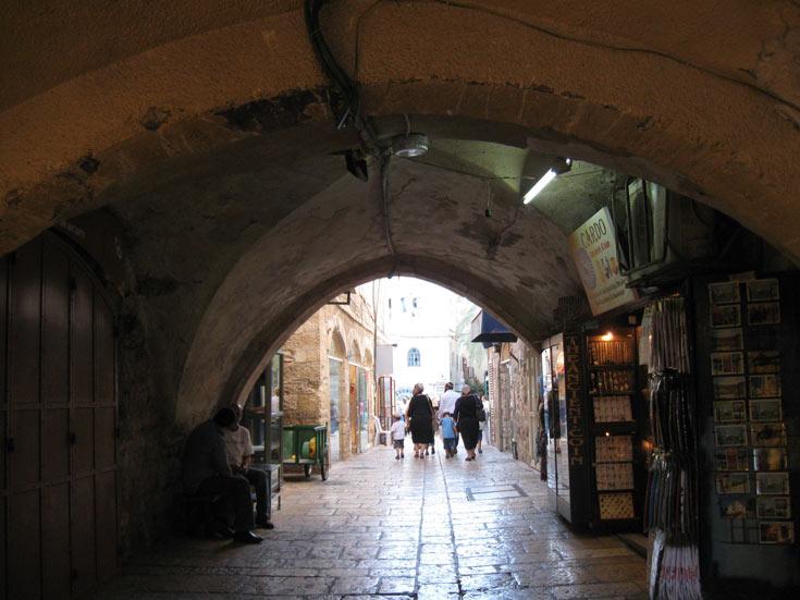 סיור בקארדו. הרובע היהודי (צילום: אריאלה אפללו)