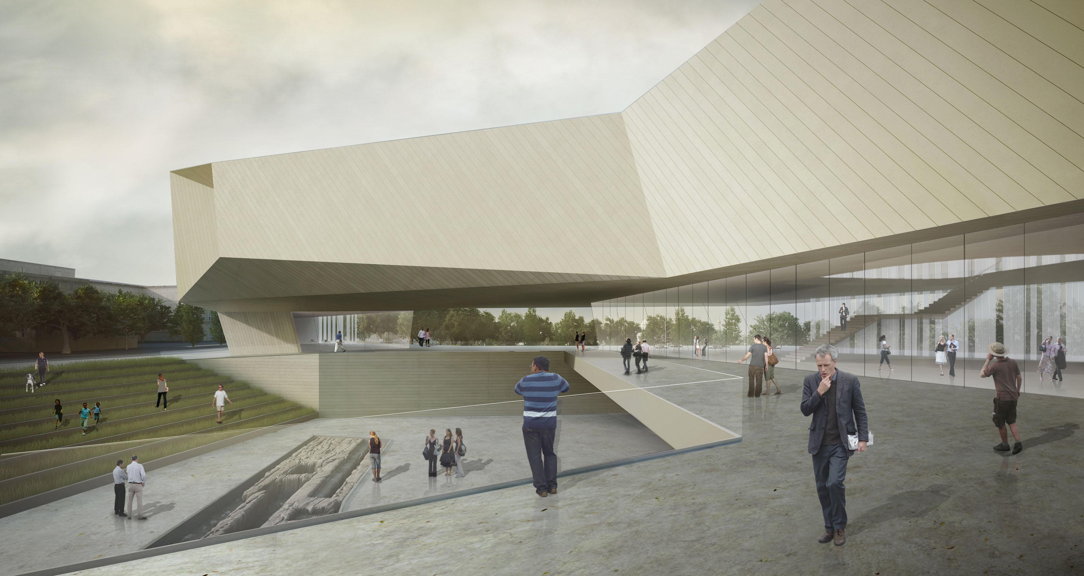 ההצעה הזוכה של חיוטין אדריכלים. הם כבר לא בפרויקט, אבל הבניין כמעט זהה (הדמיה: חיוטין אדריכלים)